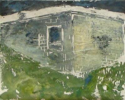 Euphoria Summer, Russell Steven Powell linoprint, 10x8